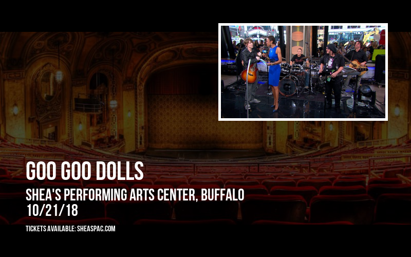 Goo Goo Dolls at Shea's Performing Arts Center
