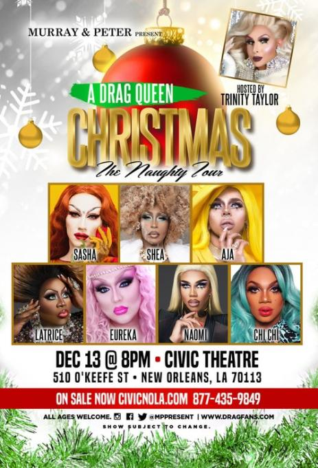 A Drag Queen Christmas at Shea's Performing Arts Center