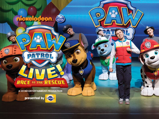 Paw Patrol Live at Shea's Performing Arts Center