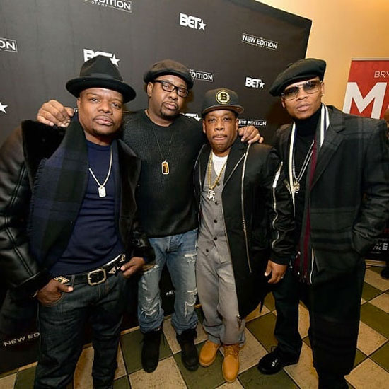 RBRM: Ronnie DeVoe, Bobby Brown, Ricky Bell & Michael Bivins at Shea's Performing Arts Center