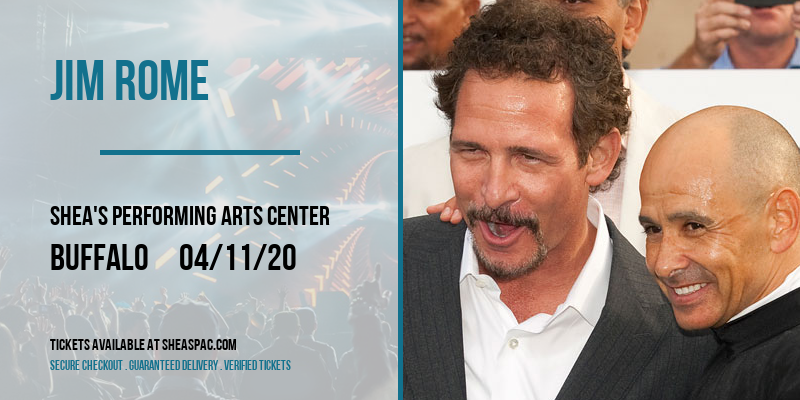 Jim Rome [POSTPONED] at Shea's Performing Arts Center
