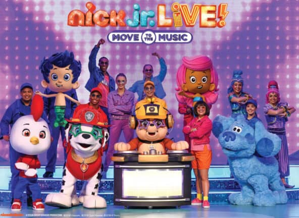 Nick Jr. Live! Move to the Music at Shea's Performing Arts Center